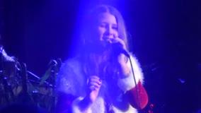 "12 year old sings ""O Holy Night"""
