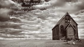 Xulon Press book 24 Hot Potatoes in the Church Today | Diane M. Hoffmann, Ph.D.