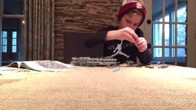 Lego Time Lapse 75105 Millennium Falcon