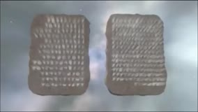 Two Stone Tablets of the Ten Commandments