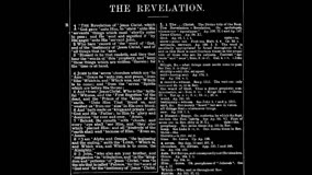The Book of Revelation (Part 1)