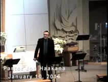 January 10, 2016 - Sermon