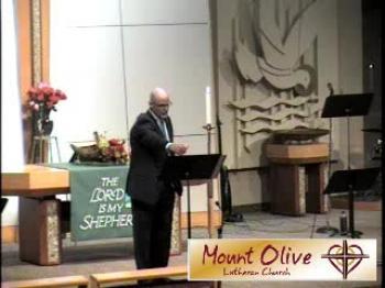 November 22, 2015 - Sermon
