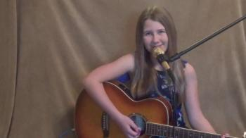 "12 year old sings ""Oceans"" Cover - Hillsong United"