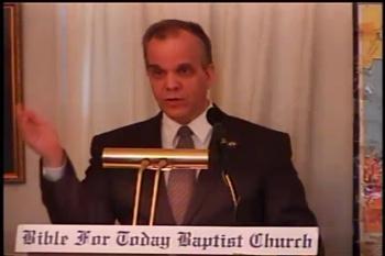 Part 2 -- The Manifestation of the Spirit    – 1 Corinthians 12:7-8  –  Pastor Daniel S. Waite – BFTBC