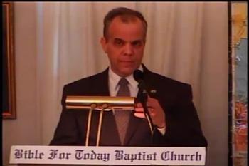 Part 1 -- The Manifestation of the Spirit    – 1 Corinthians 12:7-8  –  Pastor Daniel S. Waite – BFTBC
