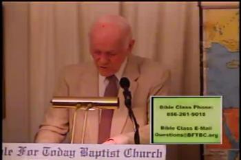 Felix Trembled –  Acts 24:16-27  –  BFTBC – Pastor D. A. Waite