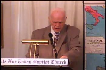 Hyper-Calvinism's Woe – 1 Corinthians 9:14-27 –  Pastor D. A. Waite  –  BFTBC
