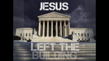 Jesus Left The Building