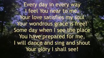 I Will Praise My Lord!