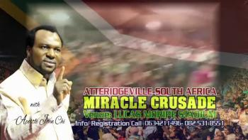 SOUTH AFRICA CRUSADE WITH APOSTLE JOHN CHI www.JohnChi.org @ApostleJohnChi