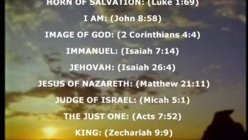 The Names of Jesus A-Z
