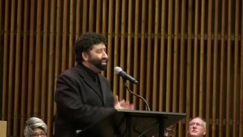 Jonathan Cahn Speaks at the United Nations