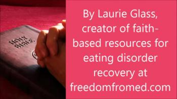 Eating Disorder Recovery Prayer - Facing Fear