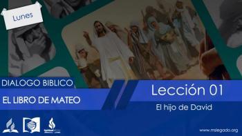 Lunes 28 de marzo: Un linaje real - Dialogo Biblico