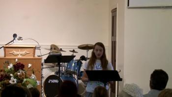Rebecca McAuley - Believer's Baptism (2015)