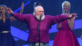 "Charlie Daniels performing ""He's Alive"" at Easter"