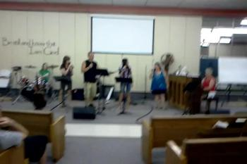 Youth Singing - June 19, 2012