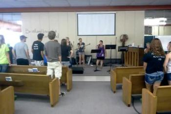 Youth Singing - 06/26/2012