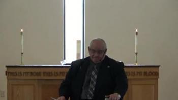 April 24, 2016 Sermon