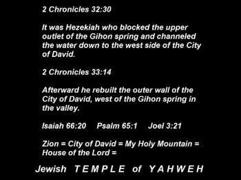 Be sure to send this to a friend  ! !  The TRUE location of Solomon's Temple.