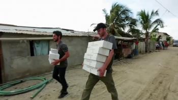 Samaritan's Purse Provides Necessities to Earthquake Survivors
