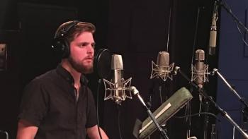 """Mathias Michael working on """"Mystery"""" in Solid Sound Studio - sign up for free downloads"""