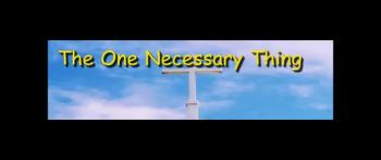 The One Necessary Thing - Randy Winemiller
