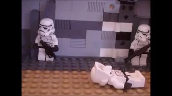 Save the Storm Troopers // Lego stop motion//