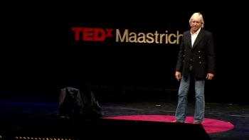 Doing the Impossible, Cutting through Fear | Christian Sword Swallower Dan Meyer | TEDx Maastricht