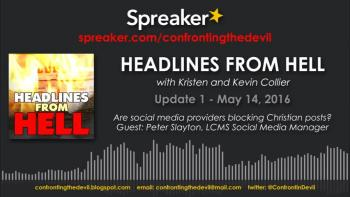 HEADLINES FROM HELL May 14, 2016
