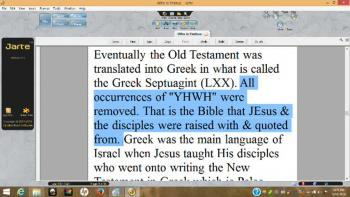 Who Is Yeshua, Yah, Yahweh, Yahshua, YHWH, YHVH?
