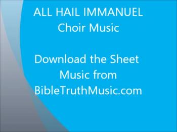 All Hail Immanuel