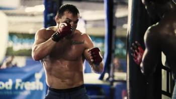 Cage Fighter Inspires Others