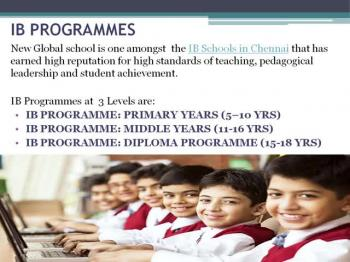New Global School-CBSE school in Chennai
