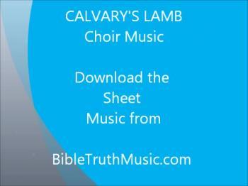 Calvary's Lamb