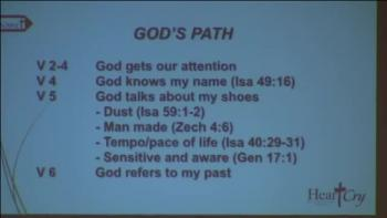 God's Place and Path by Francois Carr