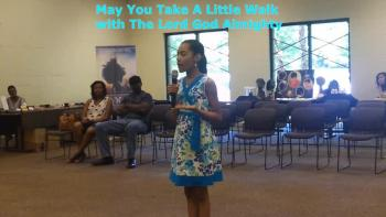 Glory - May You Take a Walk With God