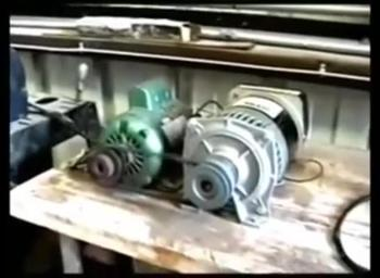3000 Watt Generator Powers Itself (Grinder & Drill Press)