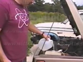 Water powered car (Suzuki Samurai)