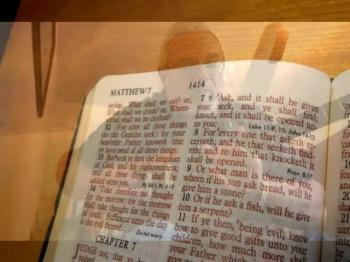Matthew 7 vs 7 & 8