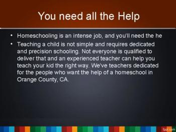 Orange County Home school