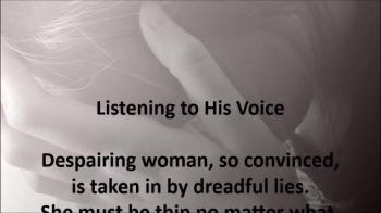 Christian Eating Disorder Poem - Listening to His Voice