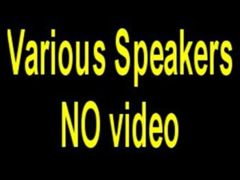 3 guest speakers