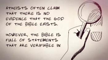 God's Evidence In His People