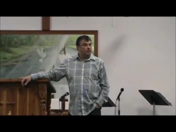 Guest Speaker Pstr Shane Cruse-Pt 5 of 6-Living Waters Church-10Jul2016