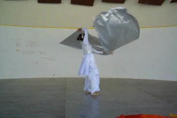 Danza Cristiana (ESPÍRITU SANTO) Banderas, Cintas y Ribbon Dance (Angela Rojas)