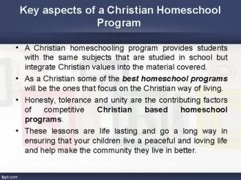 Best Christian homeschool programs in orange county
