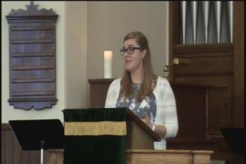 Judgement and Grace, by Rev Thyra VanKeeken