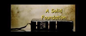 A Solid Foundation - Ron Fulton Jr.